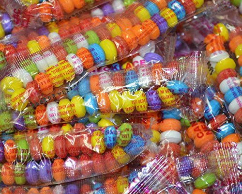 Candy Necklaces Bulk - 100 - Stretchable Candy Necklaces