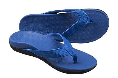 Bodytec Wellbeing , Damen Herren Unisex Erwachsene Durchgängies Plateau Sandalen , blau - blau - Größe: 41