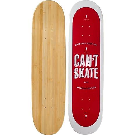 Bamboo Skateboards Blank Skateboard Deck More Pop Lasts