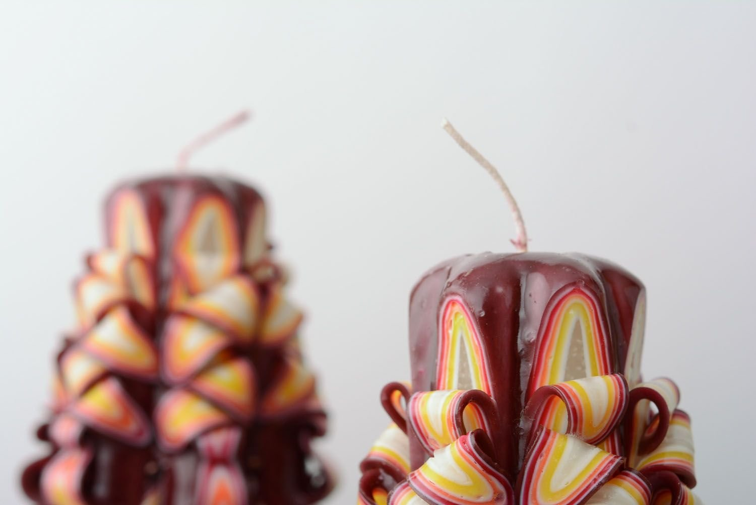 Set Of Carved Candles by Handmade (Image #4)
