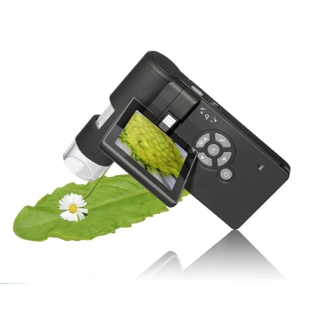 Micro-SD Storage Photo Capture a qualsiasi monitor//TV con HDMI-in HDMI Microscopio Express Panda microscopio digitale Full HD 1080P PC supportata ingrandimento 10/x -220/x