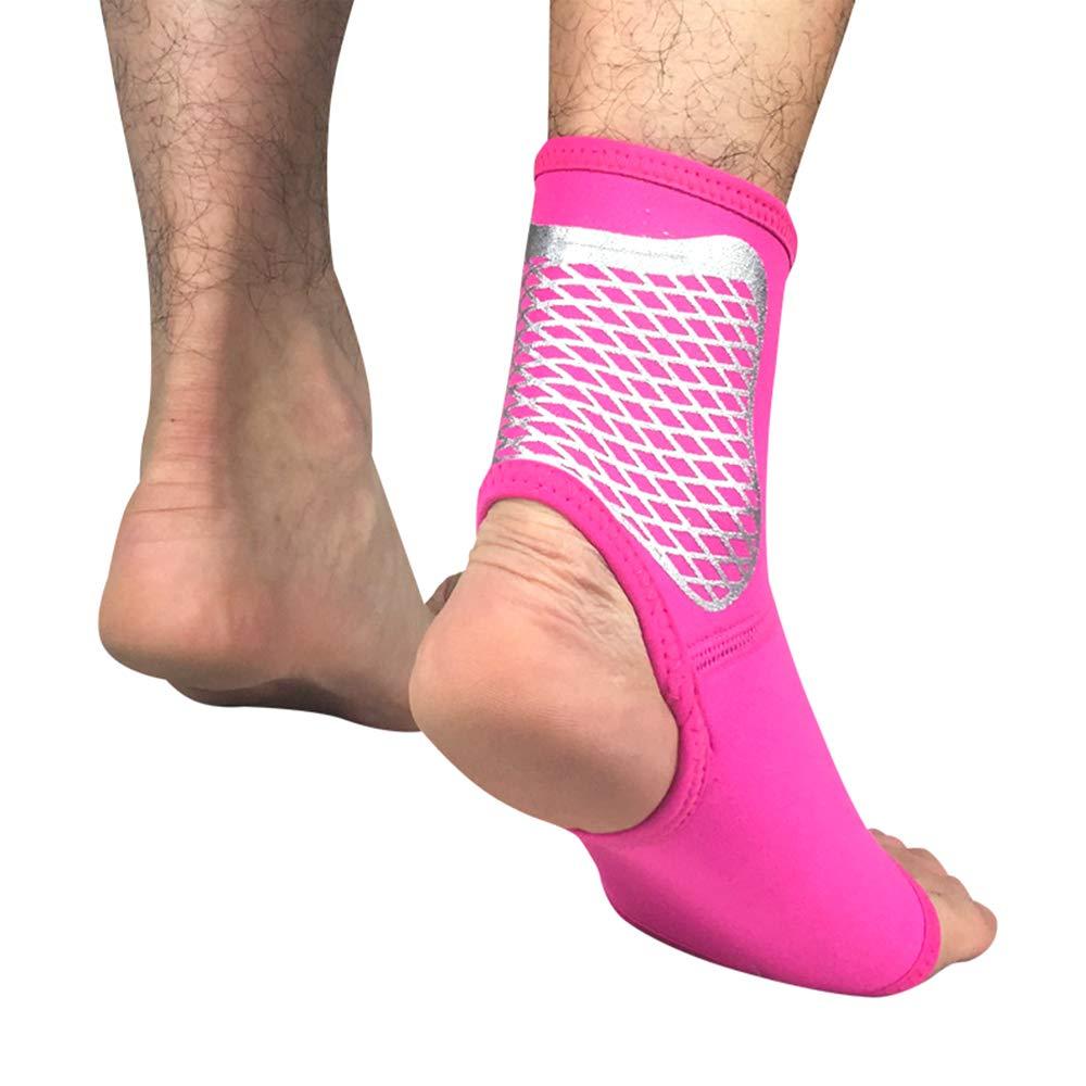 Tutore Elastico per Caviglia Compressione per Caviglia per slogature oobest