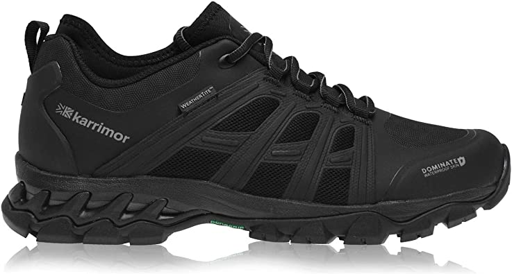 Karrimor Rapid Sneakers Mens Gents Road Running Shoes Laces Fastened Padded