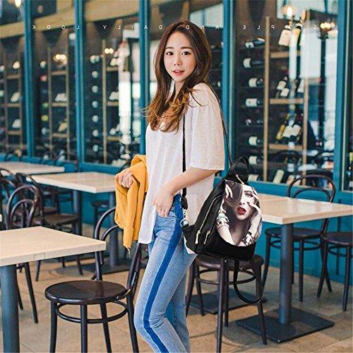 ' marée impression du à loisir sac d'épaule dos femmes Q version avec Personnalisé oblique tours sac de féminine cent Sac Aoligei poitrine qg5wxXTgAn