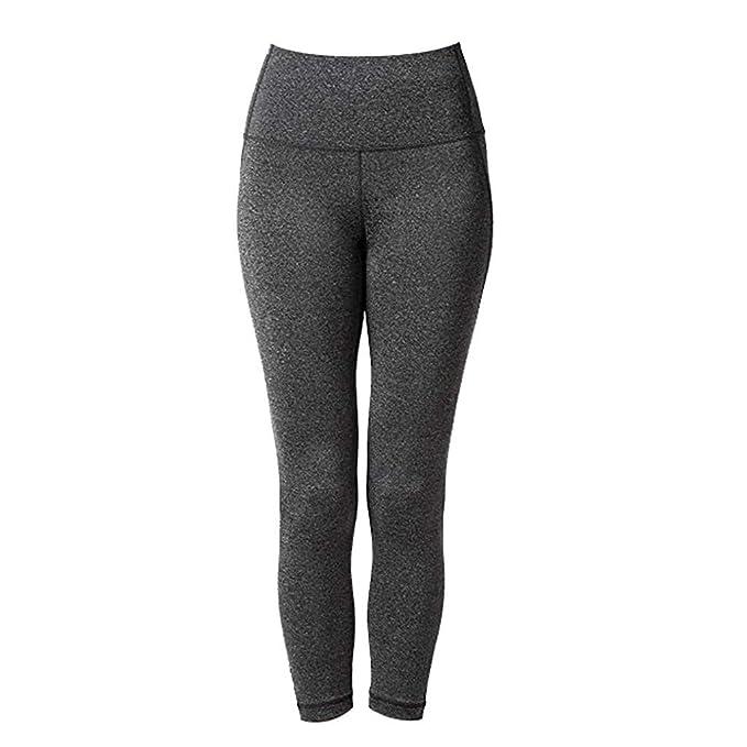 Damen Sport Yoga Hose Fitness Laufhose Jogginghose Trainingshose Freizeit Hosen