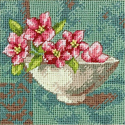 Dimensions Crafts NeedleCrafts Needlepoint Dogwood