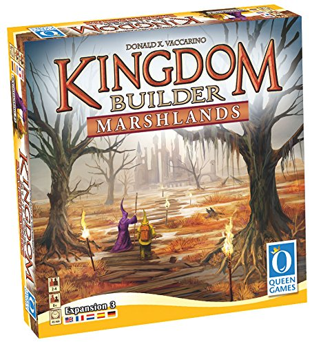 Kingdom Builder Expansion: Marshlands Board Game (2-4 Player)
