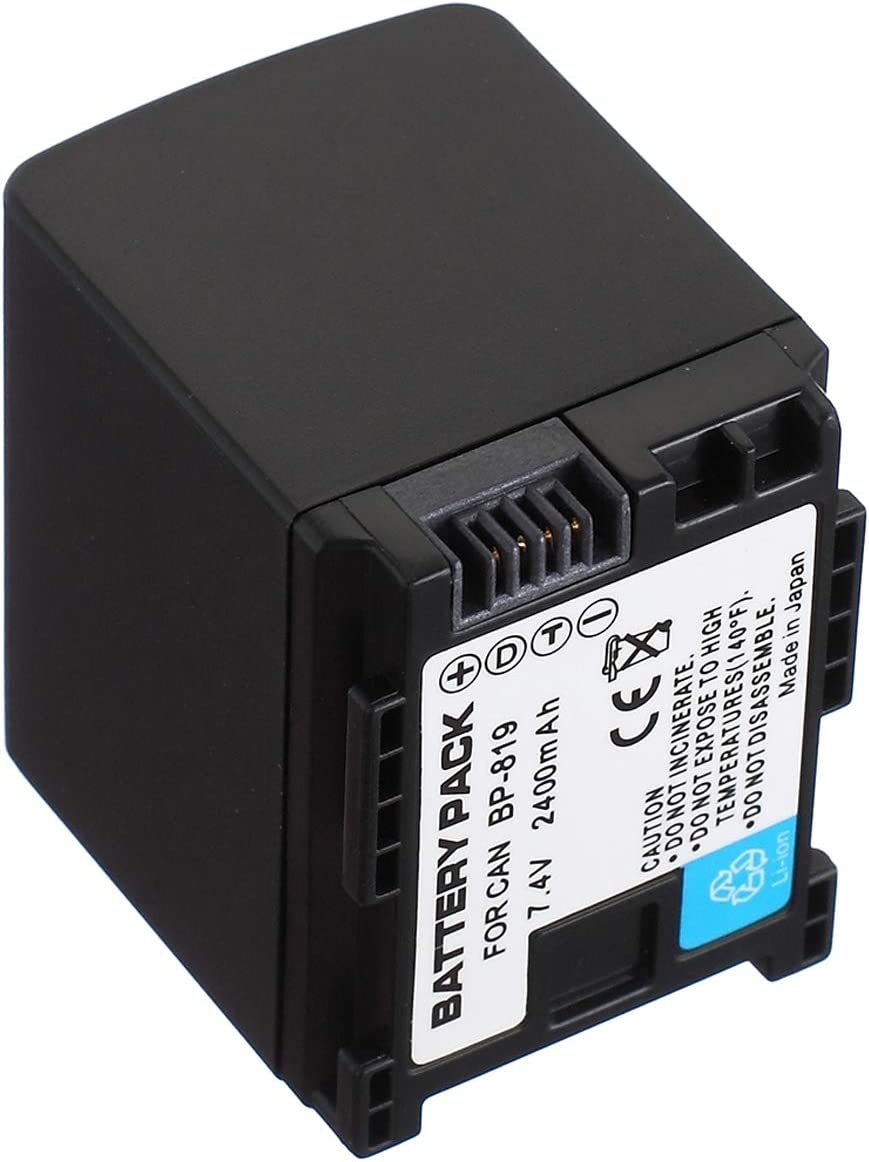 LCD USB Travel Battery Charger for Canon LEGRIA HF M300 M306 M307 M400 M406 Handheld Camcorder