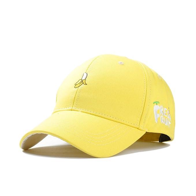 13ad912d0 Amazon.com: Women Fruit Embroidery Cotton Baseball Caps Dad Hat ...