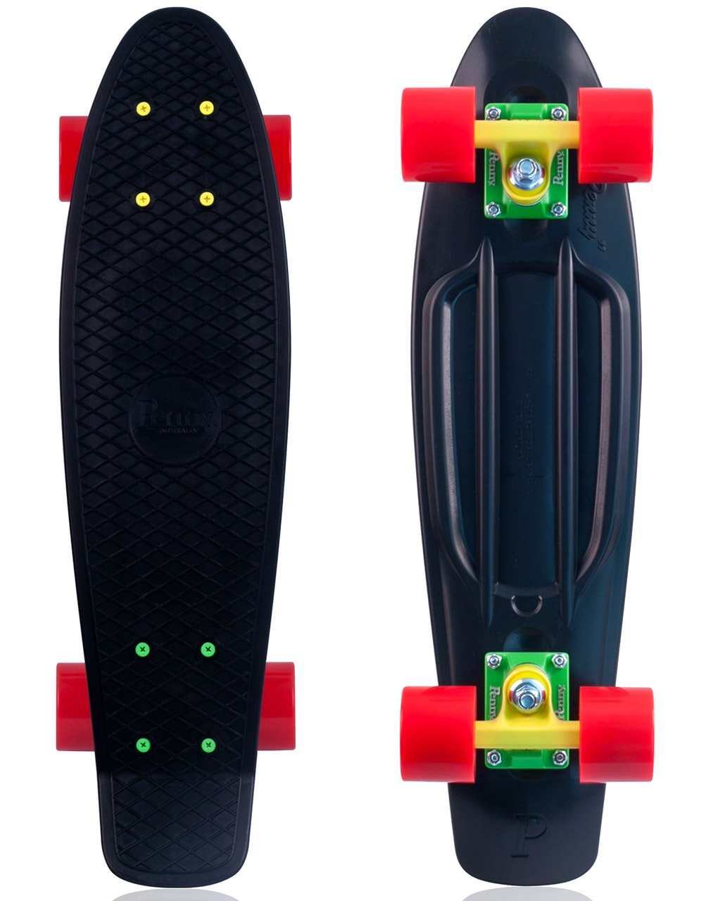 Penny Classic Complete Skateboard - Rasta 27''