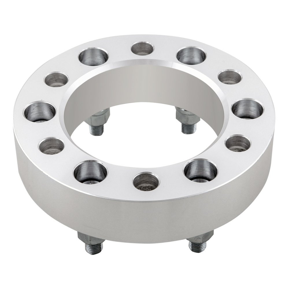 DCUAUTO 2pc 6 Lug Chevy 6x5.5 Wheel Spacers Adapters 1.5 with 14x1.5 Studs for 1999-2017 Silverado 1500 Suburban Express 1500 Trucks 1995-2017 Tahoe
