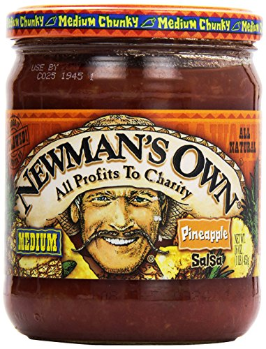 Newman's Own Pineapple Salsa, 16 oz