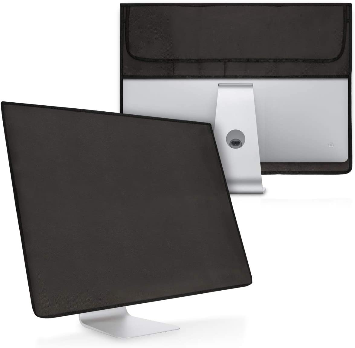 """kwmobile Cover Compatible with Apple iMac 21.5"""" - 4-in-1 Case for Monitor and Accessories - Dark Grey"""