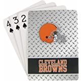 Cleveland Browns Playing Cards Diamond Plate
