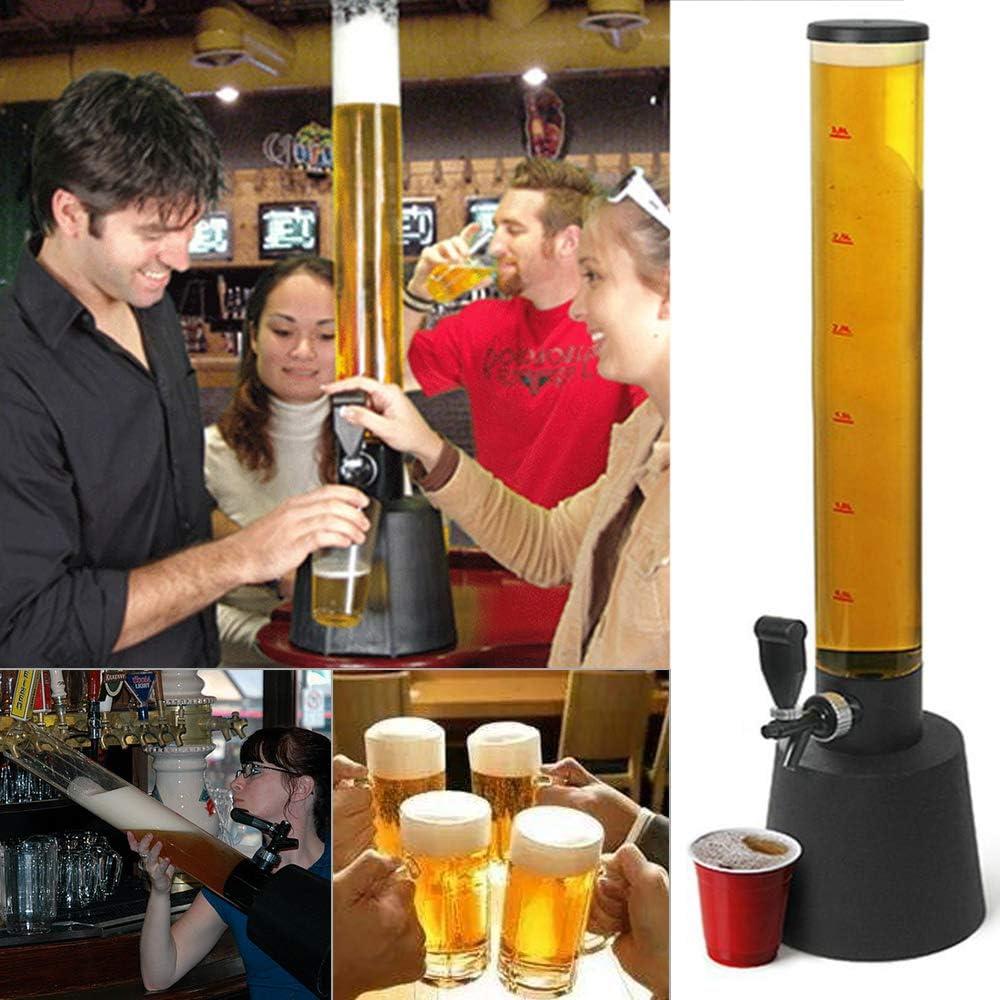 BALLSHOP 3,5 L Zapfs/äule Biers/äule Getr/änkespender Trinks/äule Biertower Bier-Trinktower
