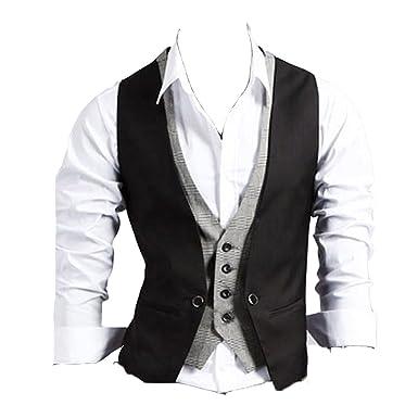 Linyuan Deft diseño Fashion Traje de Suave Slim Fit para Hombre ...
