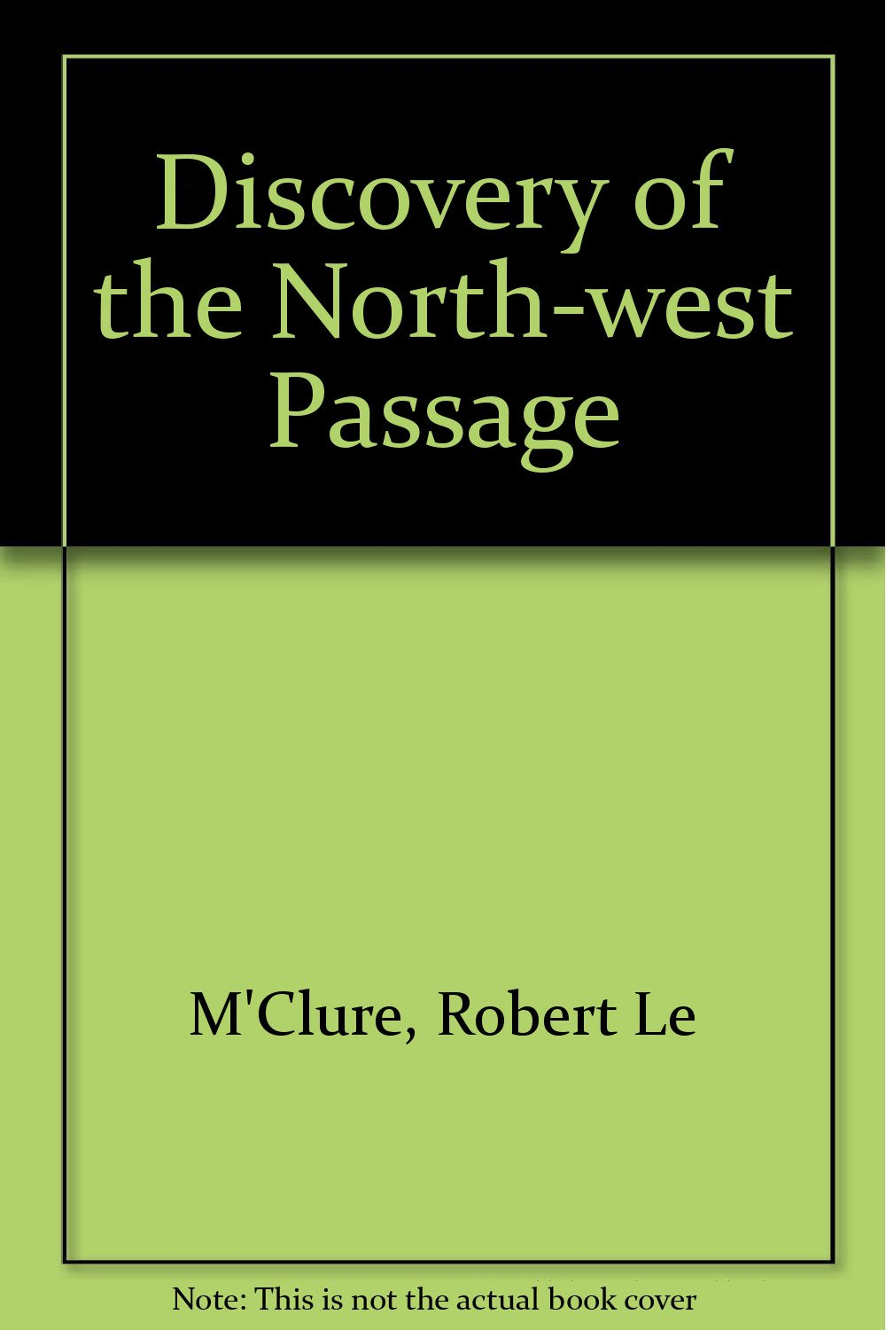 Discovery of the North-west Passage