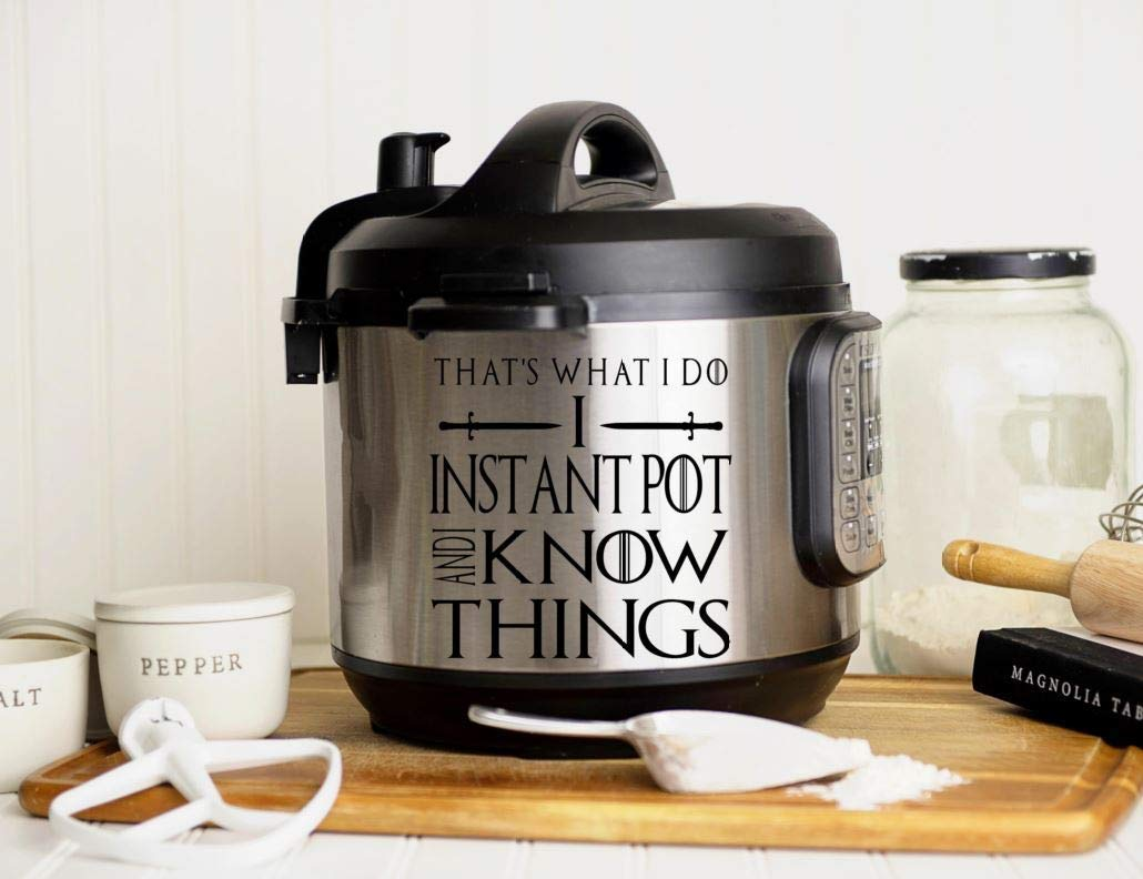 Instant Pot Decal Kiss the Cook decal instant pot sticker instant pot design instant pot label