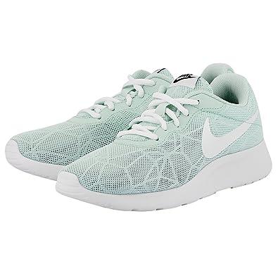 49d2dde83df Nike Womens Tanjun SE Running Sneakers Igloo White-Black 844908-304 (6