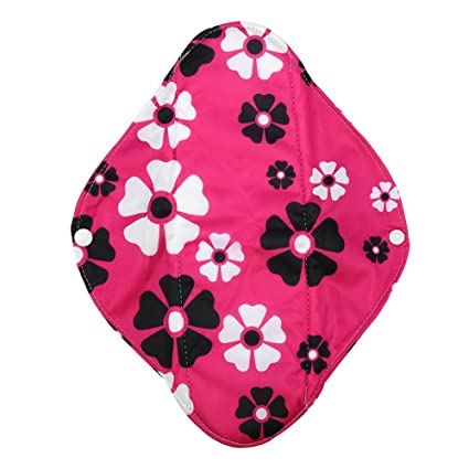 Cojín menstrual lavable, reutilizable Panty Liners para mujeres Paño higiénico de tela de bambú Servilleta