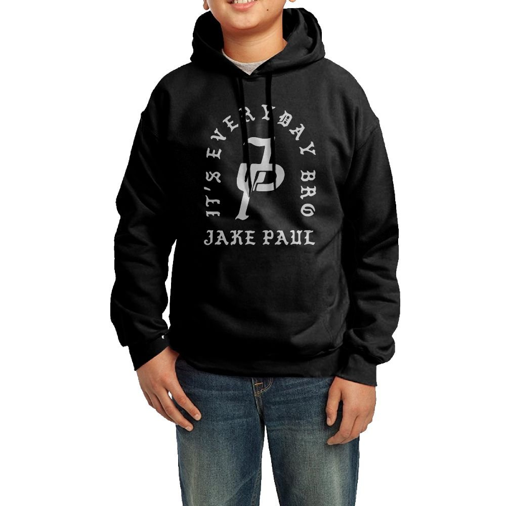 Jake Paul JP Logo Youths Fashion Personality Casual Unisex Hooded Sweatshirt