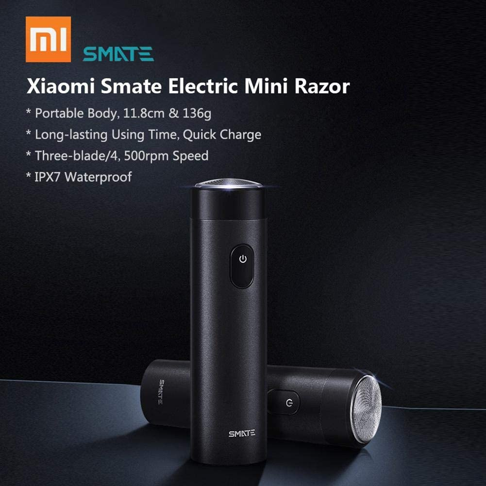 Xiaomi Smate afeitadora eléctrica de turbina Impermeable para ...