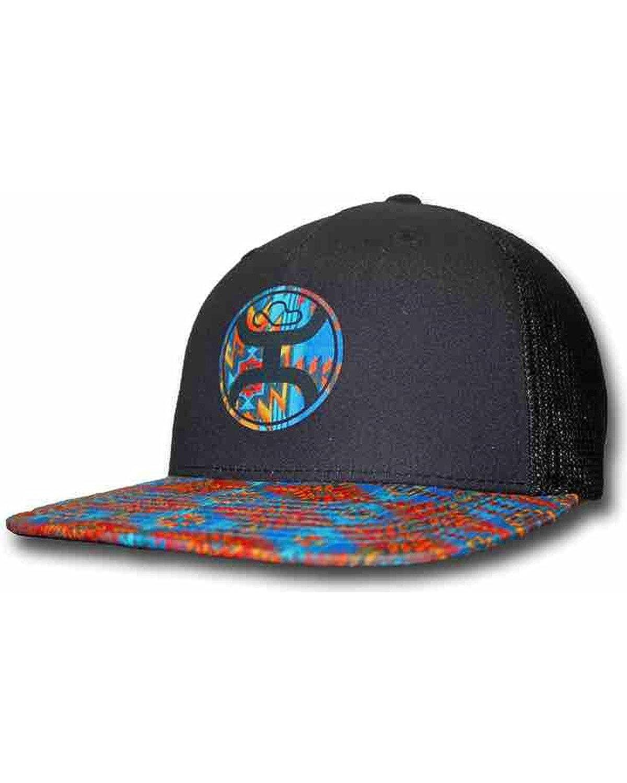 708ac41872460 HOOey Men s Delirium Trucker Hat Black One Size at Amazon Men s Clothing  store