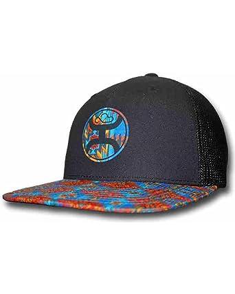 669fb9c67bcc1 HOOey Men s Delirium Trucker Hat Black One Size at Amazon Men s ...