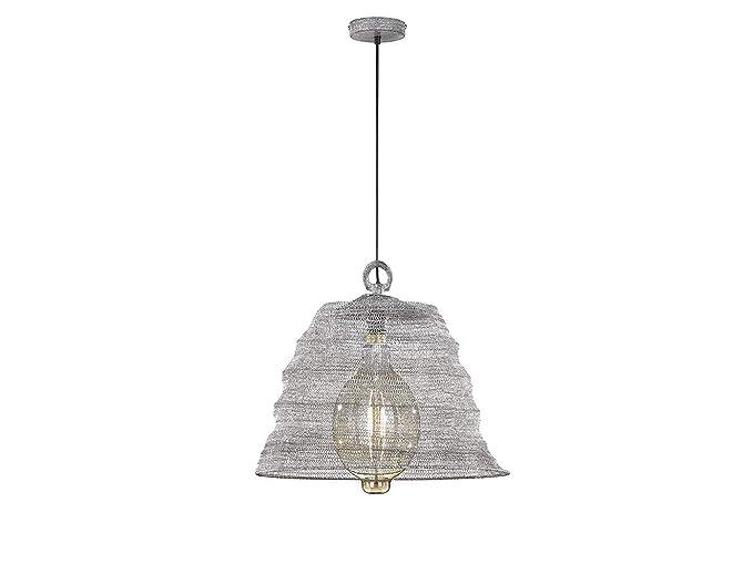 Honsel - Lámpara LED de techo con malla metálica de color ...
