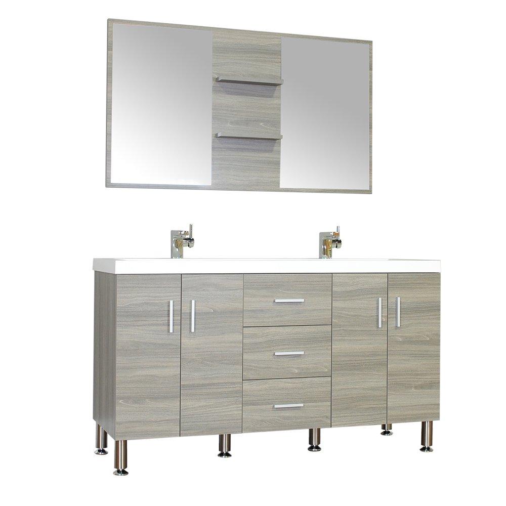 low cost alya bath at 8043 g 56 quot bathroom vanity