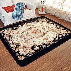 Estilo europeo memorecool rosas alfombra sala de estar - Alfombras dormitorio amazon ...