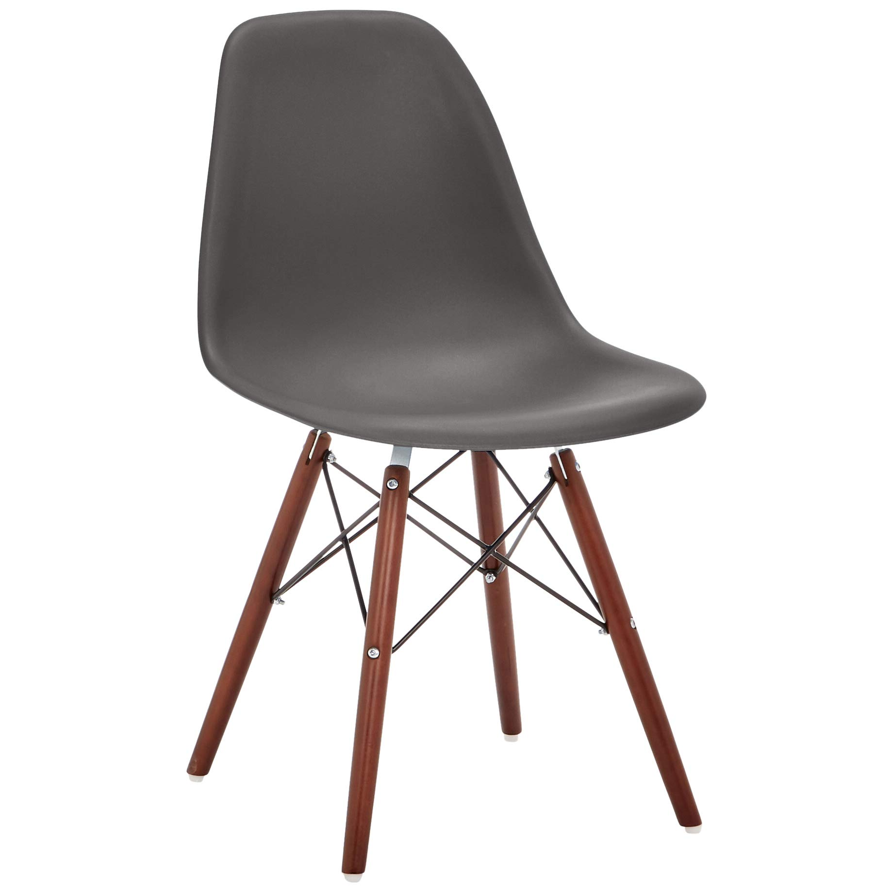 Phoenix Home AVH072003 Dining Chair, 21'' Length x 18.5'' Width x 32.5'' Height, Gray