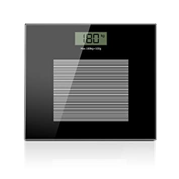 NMPB Digital Bathroom Scale Extra Large LCD Display Body Weight Scale, Step on Technology,