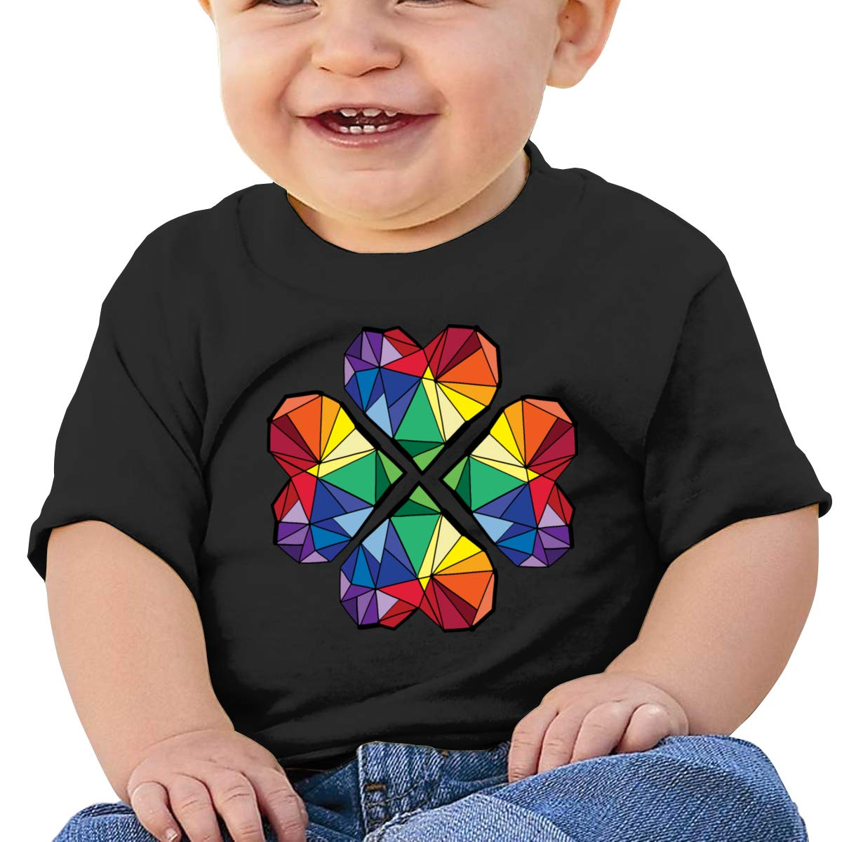 Love Geometry Clover Short Sleeve T-Shirt Baby Boys