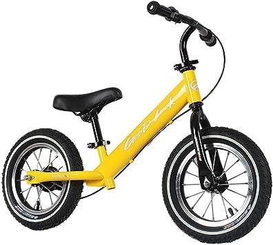 QAZWSX Bicicleta para Niños, Carro De Equilibrio para Niños 2-6 ...