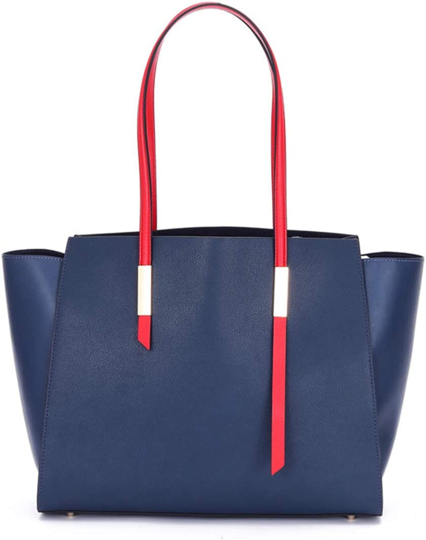 HWX Fashion Womens Handbags Shopping Bag Shoulder Bags Women Leather Tote Bag Clutches Bags,Blue,352824cm