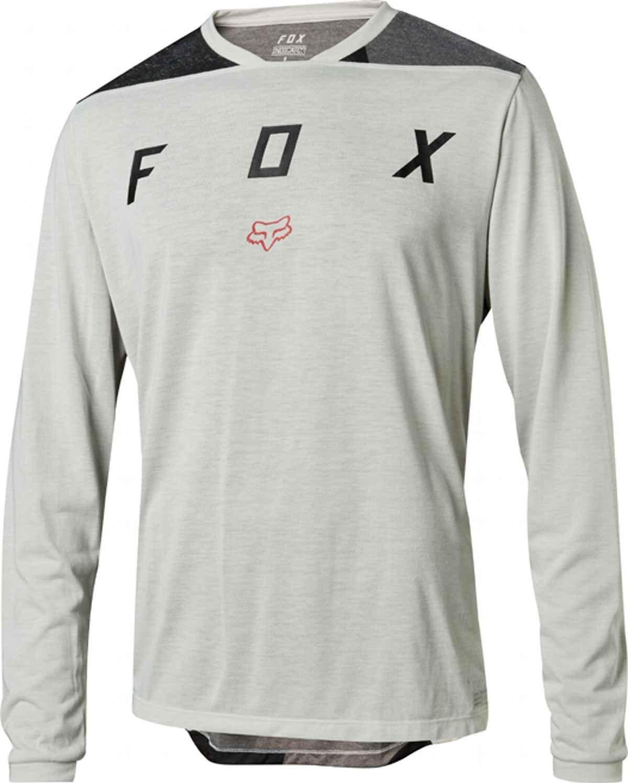 Fox Indicator LS Mash Camo MTB Langarm Jersey Spring 2018 Cloud Grey grau