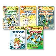 Geronimo Stilton Starter Pack: (Books 1-5)
