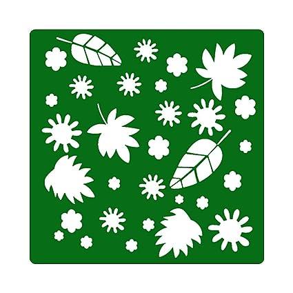 Matefield - Plantillas de ladrillo para pintar en la pared, álbumes de recortes, repujado