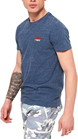 Superdry Men's Orange Label Vintage Embroider T-Shirt: Amazon.co.uk: Sports  & Outdoors