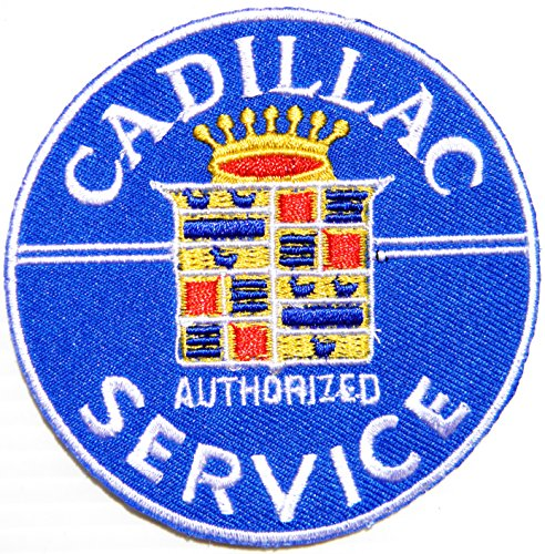 Cadillac Logo Sign Car Truck Racing Patch Iron on Appliqu...