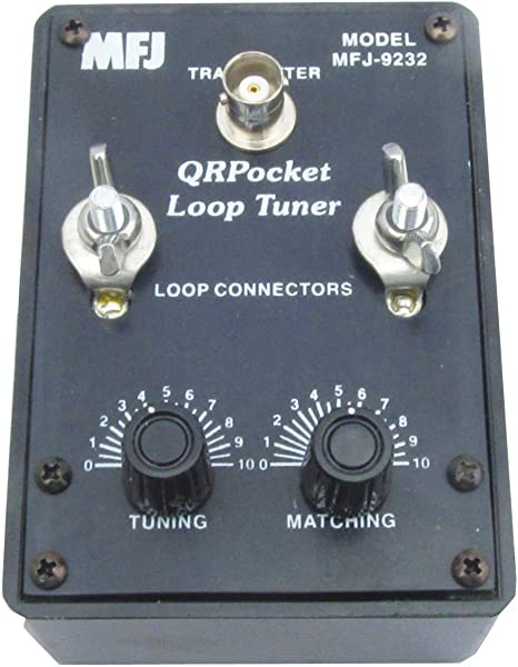 MFJ-9232 HF QRP Mini Loop Antena Sintonizador, 25 W