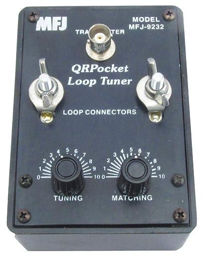 Amazon com: MFJ-9232 HF QRP Mini Loop Antenna Tuner, 25W: Home Audio