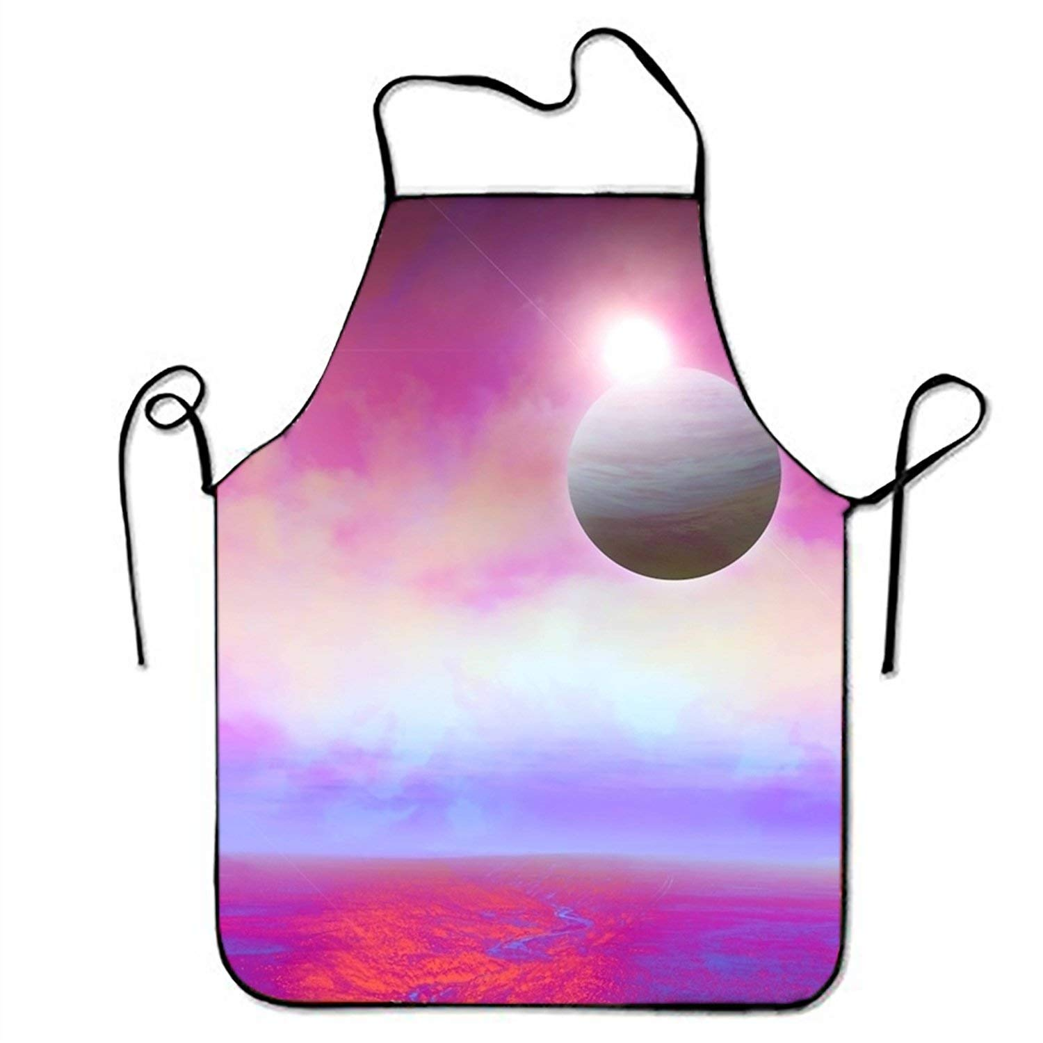 ERCGY 2019 Apron Planet The Grand River aprons printed apron for Men Waiteress Home