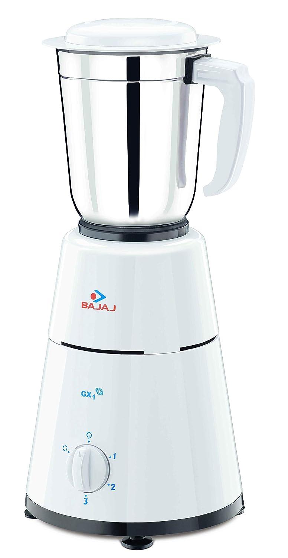 5baaf7106a8 Buy Bajaj GX-1 500-Watt Mixer Grinder with 3 Jar Online at Low Prices in  India - Amazon.in
