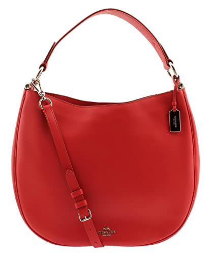 d5cf6b2a66 Amazon.com: COACH NOMAD HOBO IN GLOVETANNED LEATHER F36026 TRUE RED: Shoes