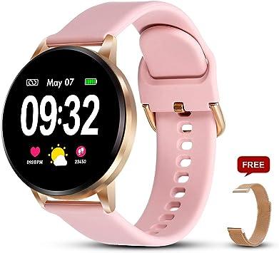 GOKOO Pulsera de Actividad Smartwatch Reloj Inteligente con ...