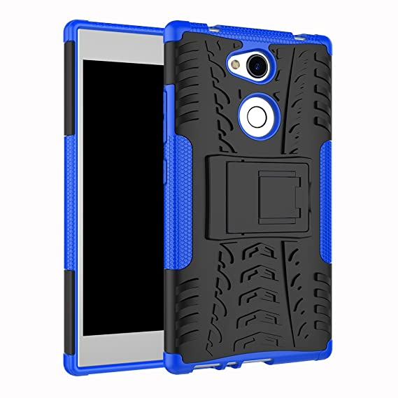 online store a0e7b eff05 Amazon.com: Sony Xperia L2 Case, BasicStock Hybrid Combo Armor ...