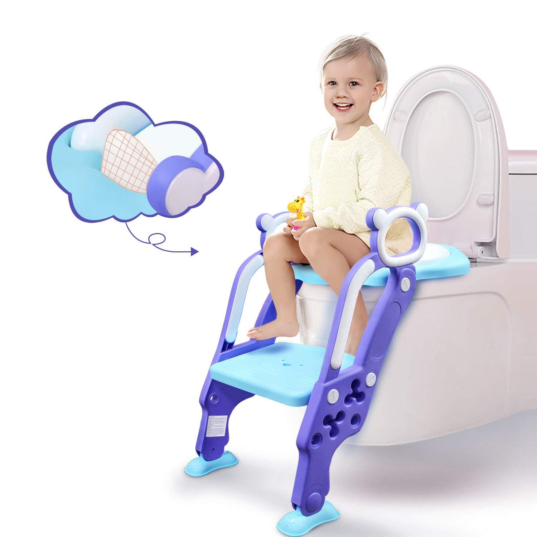 Kids Children Baby Girls Toddler Toilet Training Potty Trainer Seat Chair Safety