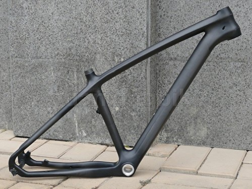 "902# Toray Carbon MTB Frame Full Carbon UD Matt Mountain Bike 26ER Bicycle Frame 16"" Headset"